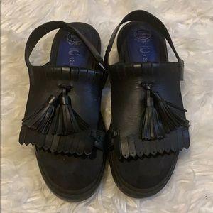 VINTAGE Jeffrey Campbell Tassel Oxford Sandals
